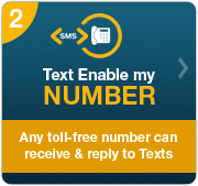 Text Enable my Number